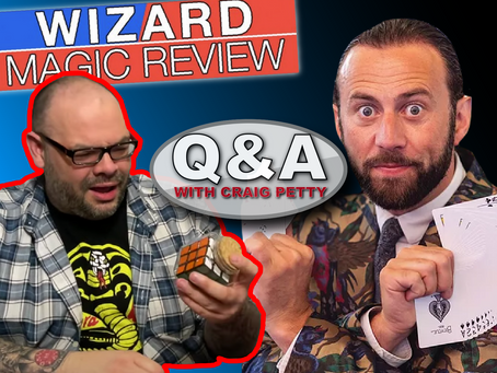 Further Thoughts about The Wizard Product Review & Sean Haydon | Q&A With Craig Petty