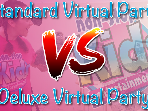 Standard Virtual Party & Deluxe Virtual Party (DIFFERENCES) - Vlog