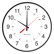 a clock illustration used for a non stop kids entertainment blog