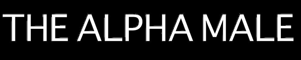 the alpha male quote design