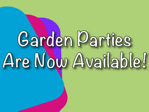 Garden Parties With Non-Stop Kids Entertainment - Vlog!