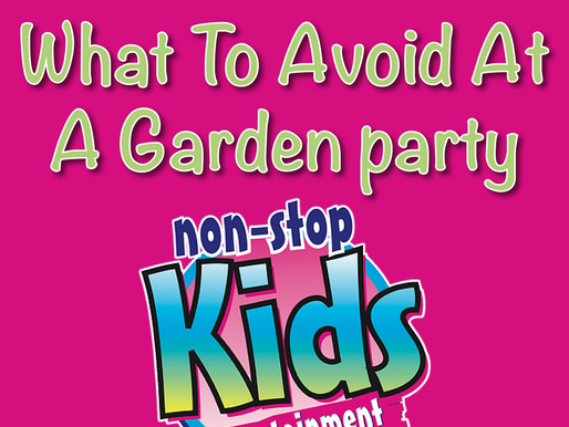 What To Avoid At A Garden party | Garden Parties 2021