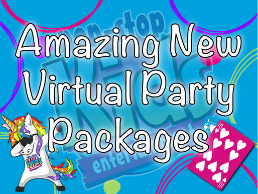 Amazing New Virtual Party Packages | Kids Party Ideas 2020