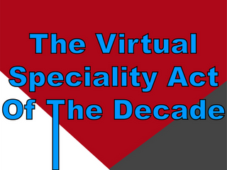 The Virtual Speciality Act Of The Decade | Virtual Magic With Slightly Unusual