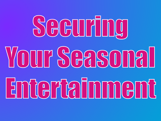 Securing Your Seasonal Entertainment | Children's Entertainment With Non-Stop Kids 2021