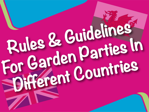 Rules & Guidelines For Garden Parties In Different Countries | Children's Entertainment With Non-Sto