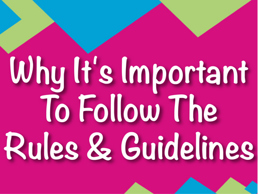 Why It's Important To Follow The Rules & Guidelines | Garden Parties 2021