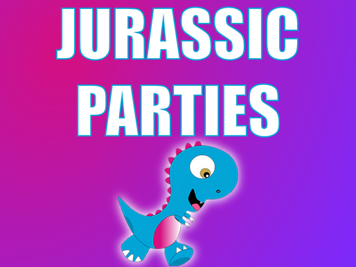 Jurassic Party Package | Dinosaur Children's Entertainment 2021