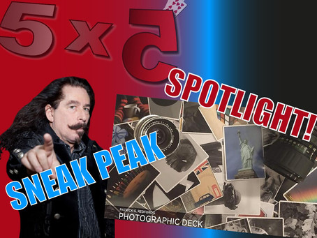 Magic 5x5 With Craig Petty | SPOTLIGHTING Photographic Deck & Talk Magic Sneak Peak With Steve Spill