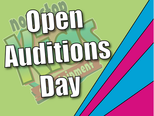 Open Auditions Day | Become A Children's Entertainer 2021