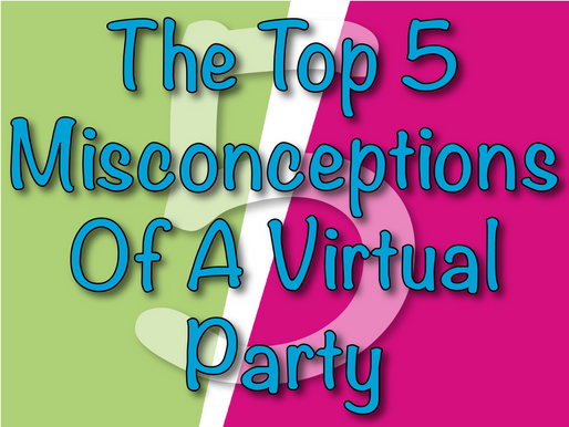 The Top 5 Misconceptions Of A Virtual Party | Virtual Parties With Non-Stop Kids