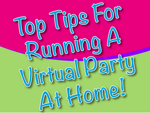 Top Tips For Running A Virtual Party At Home | Virtual Parties 2021