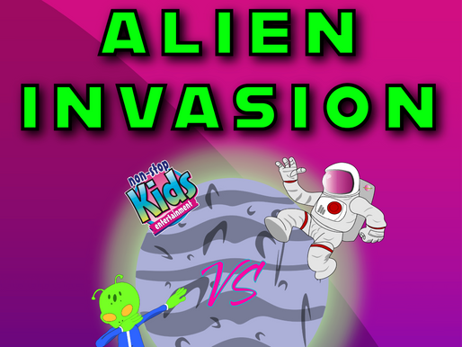 Eight Reasons Why You Should Book Our Alien Invasion Birthday Party Package