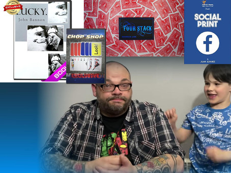 Isolated, Lucky, Four Stack and Social Print | Craig & Ryland's Magic Review Show