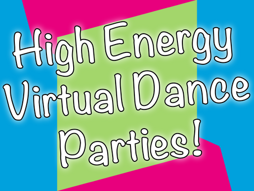 High Energy Virtual Dance Parties With Non-Stop Kids | Virtual Parties 2020