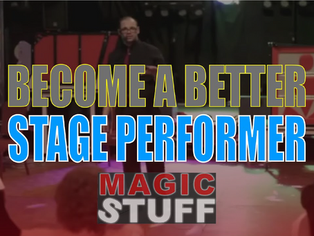 How To Become A Better Stage Magician & Craig's Favourite Stage Routine   Magic Stuff With Craig Pet