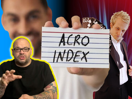 Acro Index, Blake Vogt, Live Coin Magic Performance, Alex Lodge Heads Off & More | 5x5
