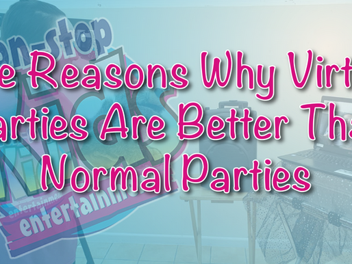 Five Reasons Why Virtual Parties Are Better Than Live Parties - Vlog