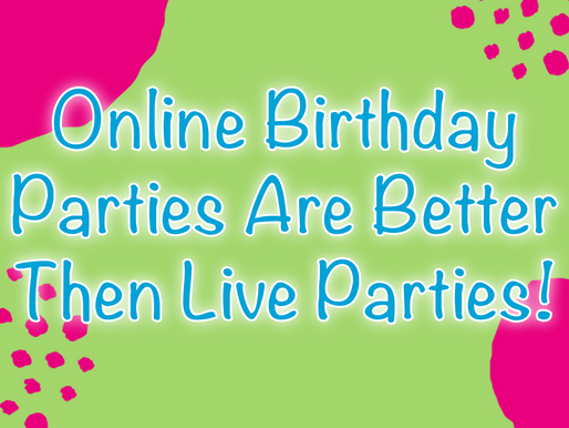 Online Birthday Parties Are Better Then Live Parties | Virtual Party 2020