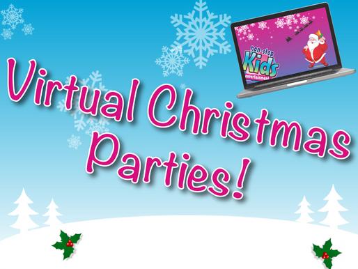 Virtual Christmas Parties! | Non-Stop Kids Virtual Entertainment 2020!