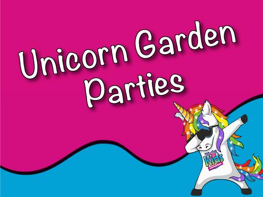 Unicorn Garden Parties | Garden Party With Non-Stop Kids