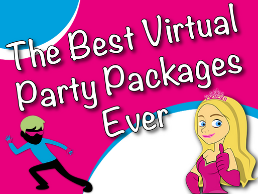The Best Virtual Party Packages Ever | Virtual Birthday Party 2021