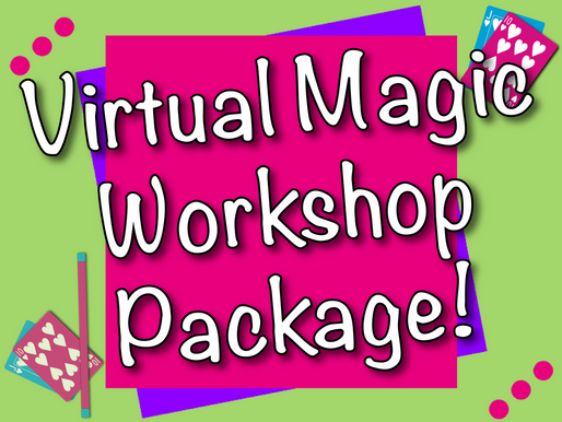Virtual Magic Workshop Package | Kids Party Ideas With NSK!