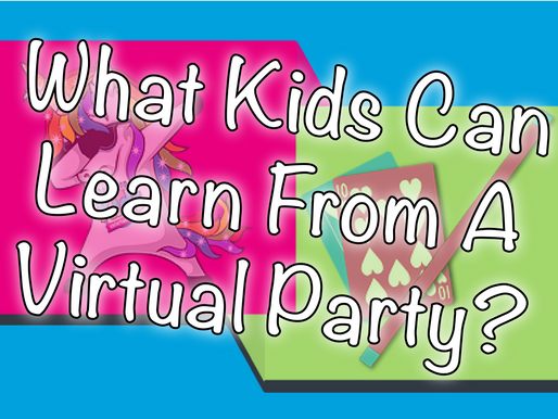 What Kids Can Learn From A Virtual Party? | Virtual Parties With NSK 2020