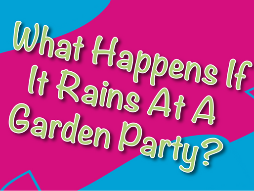 What Happens If It Rains At A Garden Party? - Vlog