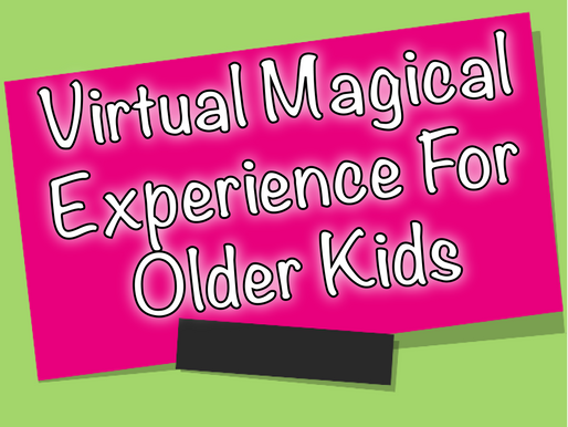 Virtual Magical Experience For Older Kids | Virtual Parties With NSK 2020
