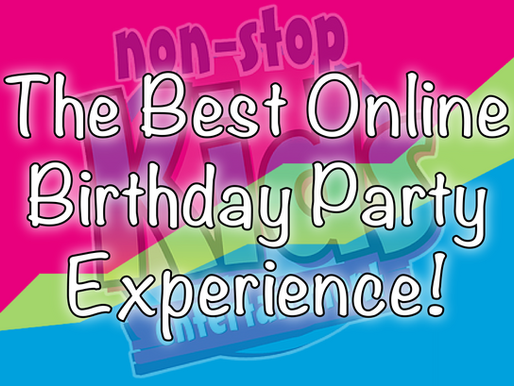 The Best Online Birthday Party Experience! | Virtual Parties 2020