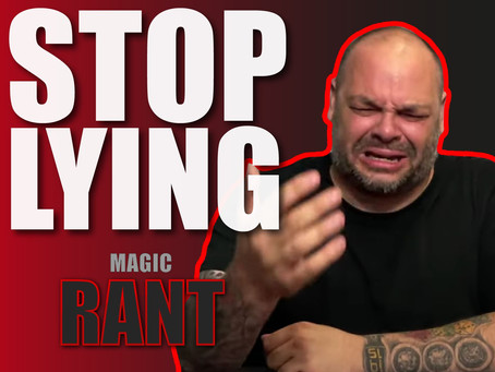 STOP LYING To Your Customers | Magic Rant With Craig Petty
