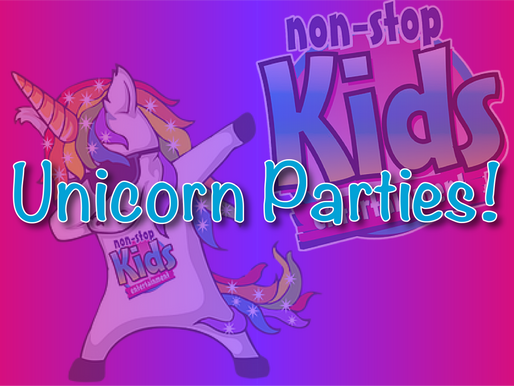 Unicorn Parties Are Here At Non-Stop Kids Entertainment - Vlog