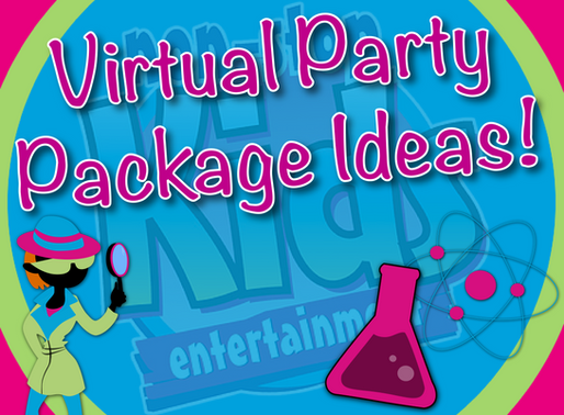 Virtual Party Package Ideas | Non-Stop Kids Entertainment Virtual Parties 2020
