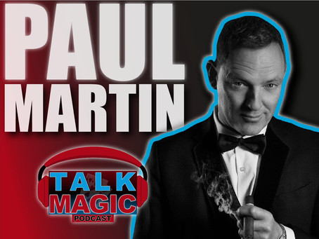 Talk Magic With Paul Martin | The Magical MC Talks Pro Magic Academy, Getting More Gigs & More