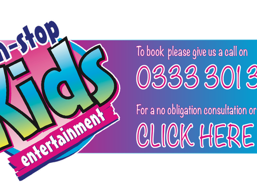 Requesting Your Own Theme For Your Child's Party | Children's Entertainment With Non-Stop Kids 2021