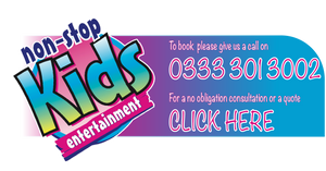 non stop kids entertainment banner