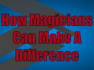 How Magicians Can Make A Difference | Corporate Entertainment With Slightly Unusual 2021