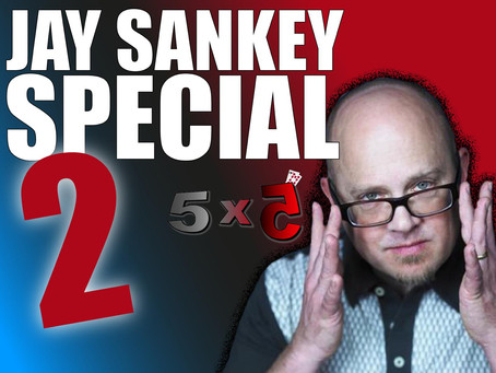 Jay Sankey Special No. 2 - Celebrating Sankey's Obsession Writing On Cards | 5x5 With Craig Petty