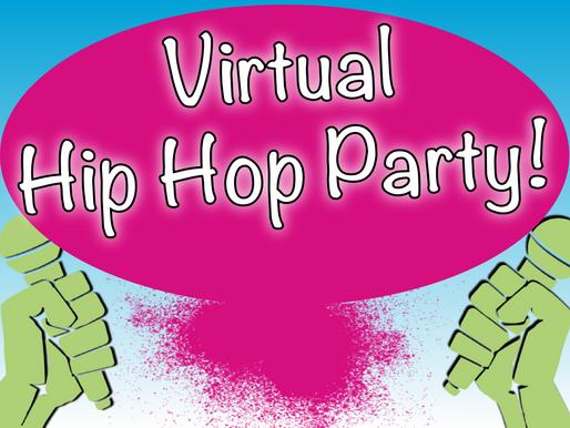 Virtual Hip Hop Party | Virtual Party Entertainment 2020