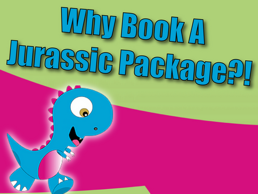 Why Book A Jurassic Package?! | Jurassic Party With Non-Stop Kids 2021