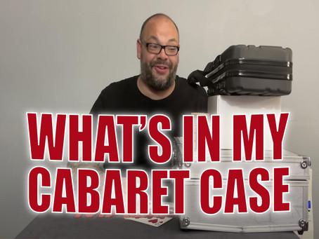 What's In Craig's Actual Cabaret Case?   Magic Stuff With Craig Petty