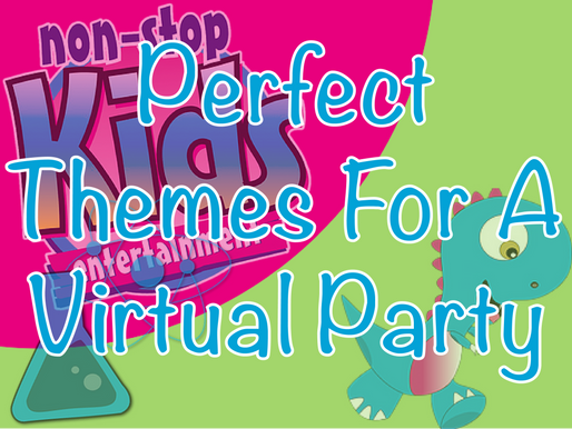 Perfect Themes For A Virtual Party | Virtual Birthday Party 2020