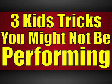 3 Awesome Kids Tricks You Might Not Be Performing | Magic Stuff With Craig Petty