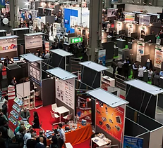 A trade show event that slightly unusual magicians have performed