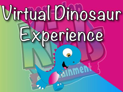 Virtual Dinosaur Experience With NSK | Virtual Parties 2020