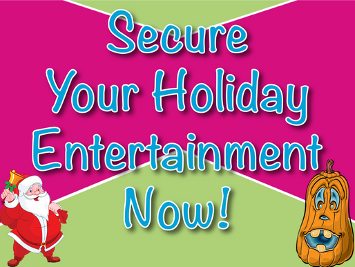 Secure Your Holiday Entertainment Now! | Children's Entertainment With Non-Stop Kids 2021