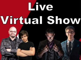 Live Virtual Show With Slightly Unusual!