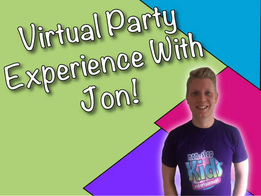 Celebrating Virtual Parties With Non-Stop Kids | Virtual Party Experience With Jon
