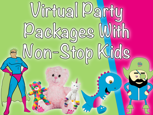 Virtual Party Packages With Non-Stop Kids | Virtual Birthday Party 2021